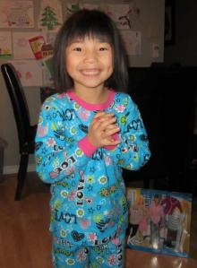 Adorable little Jia Xin!