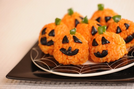 Halloween-Rice-and-Carrot-Treats